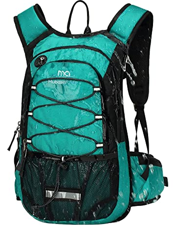 1206377aa4ae Mubasel Gear Insulated Hydration Backpack Pack with 2L BPA Free Bladder -  Keeps Liquid Cool up