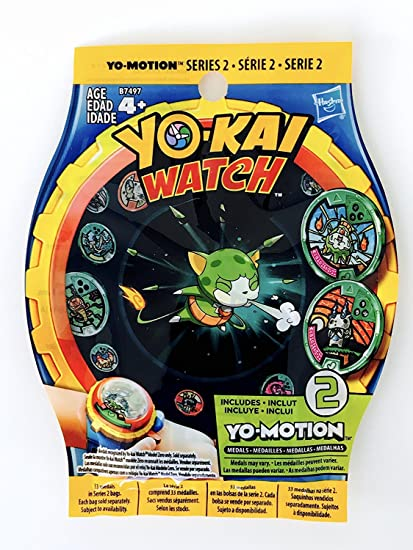 Yokai watch - Yo-motion séries 2 - 1 bling bag is 2 random medals - Neu
