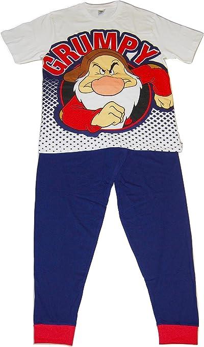 Disney Grumpy Hombres Set de Pijama de Dos Piezas