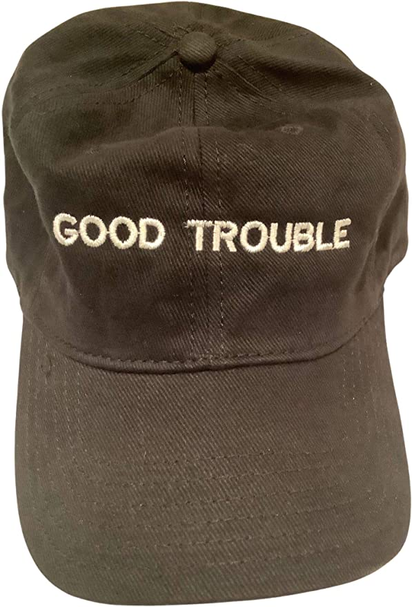 and help redeem the soul of America Snapback Hat Get in good trouble necessary trouble