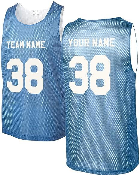 Amazon.com: Camiseta de baloncesto (unisex, juvenil/adulto ...