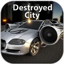 Jet Car - Destroyed City