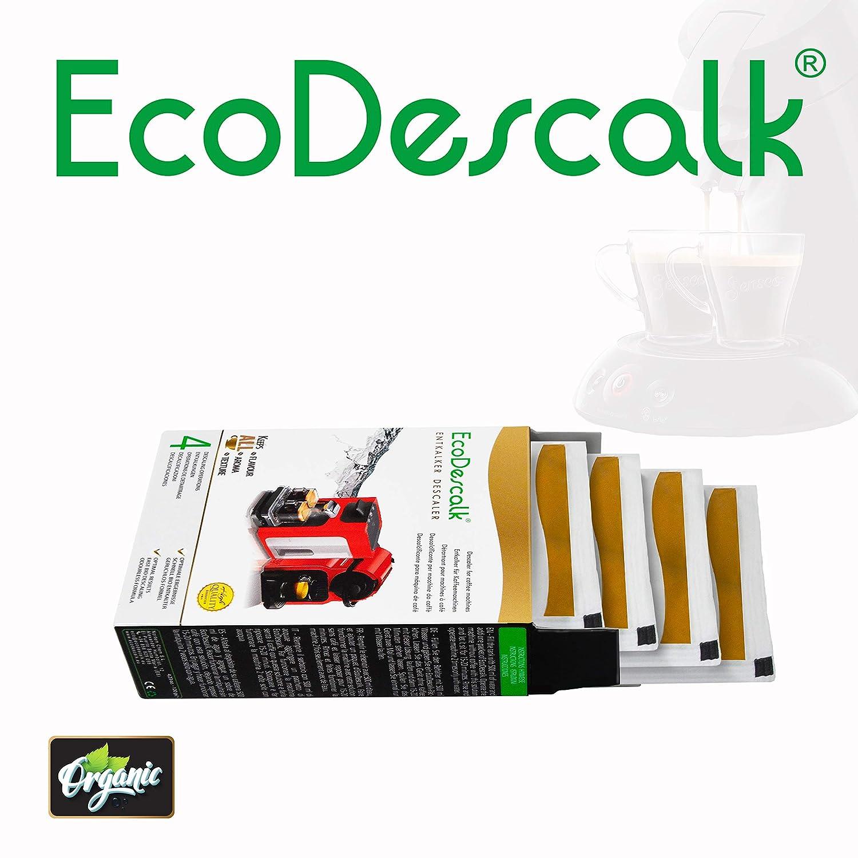 EcoDescalk Ecológico en Polvo, 2x4 Sobres. Descalcificador 100 ...