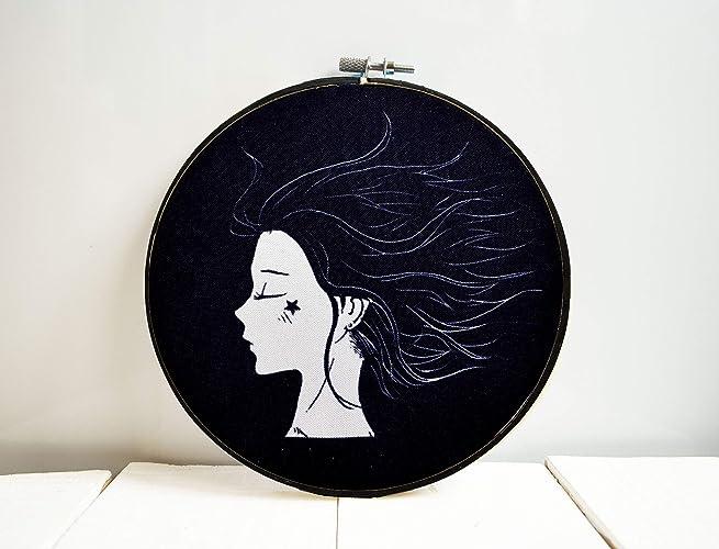 Amazon Com Aesthetic Room Decor Framed Wall Art Black And White