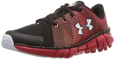 2acb40b2b Under Armour Boys  Pre School X Level Scramjet Sneaker Black (004) Red