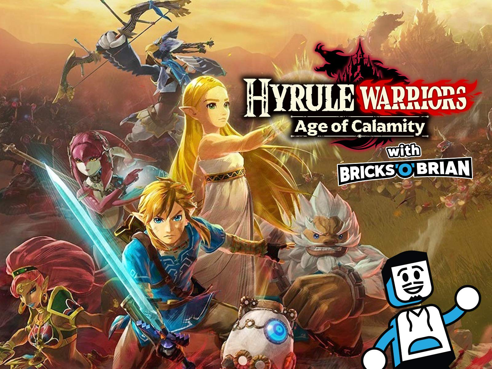 Clip: Hyrule Warriors: Age of Calamity with Bricks 'O' Brian! on Amazon Prime Video UK