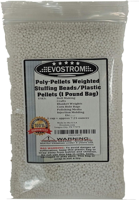 7 Polypropylene Clear Pellets Beads Teddy Bear Blankets Stuffing Filling