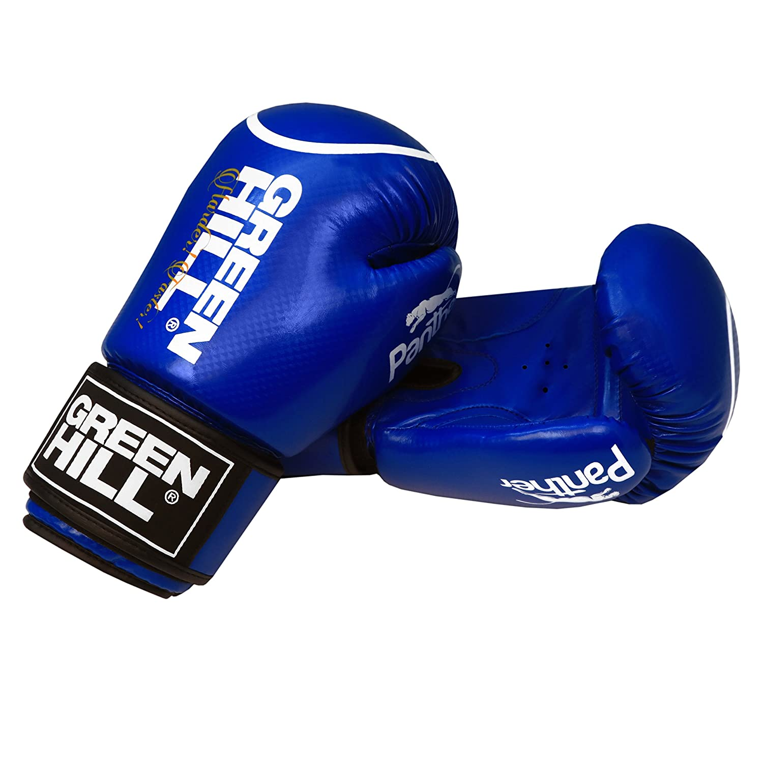 b00ed9040 mmallsports Green Hill Boxing Gloves Panther With Circle  Amazon.co.uk   Sports   Outdoors