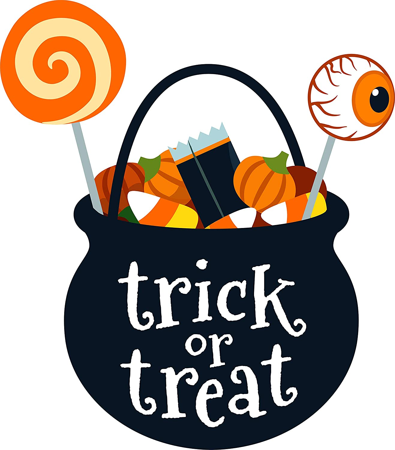 Amazon.com Fun Trick Or Treat Halloween Candy Basket Spooky