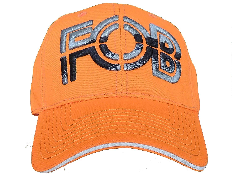 Fob Casquette Orange Fluo