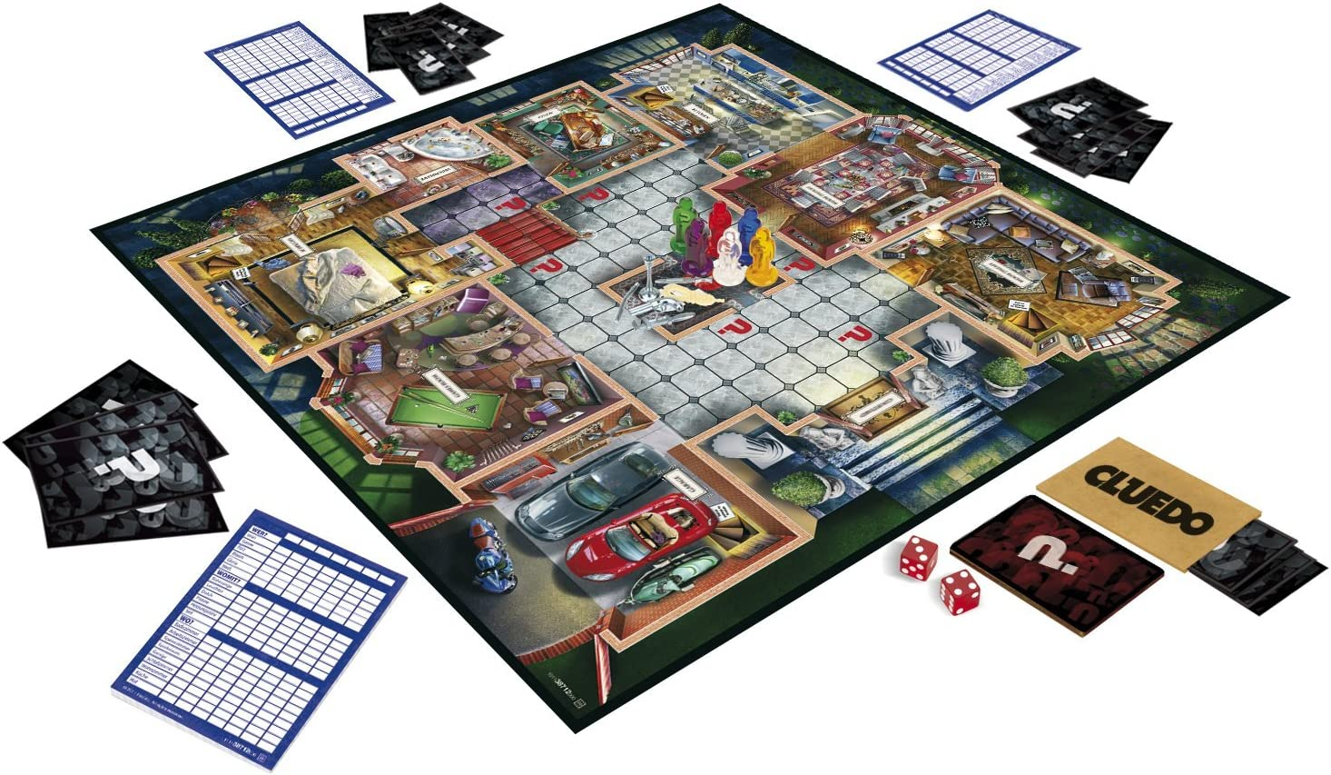 Cluedo - Juego de Misterio (Hasbro 38712) (versión en inglés ...