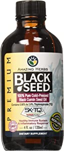 Amazing Herbs Premium Black Seed Oil, 4 Fluid Ounce