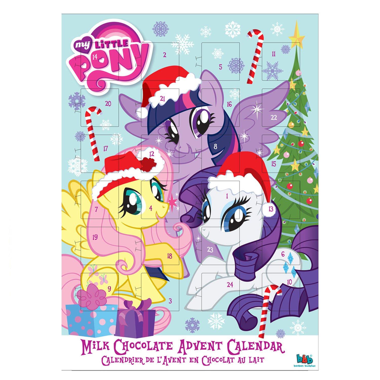 My Little Pony Christmas Chocolate Advent Calendar: Amazon.co.uk ...