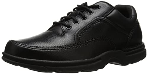 Rockport Men's Eureka Walking Shoe, Black, 7 D(M) US