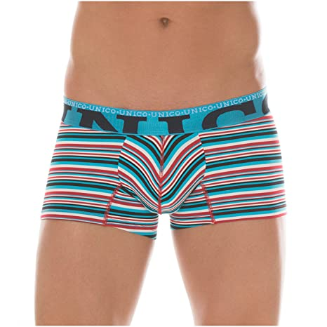 Mundo Unico Colombian Underwear for Men Stripes Microfiber Short Boxer Briefs Calzoncillos para Hombres Multicolored XL at Amazon Mens Clothing store: