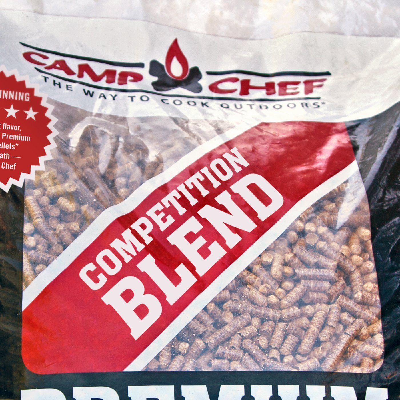Camp Chef Smoker Grill Competition Blend Hardwood Pellets, 20 Pounds (4 Pack) by Camp Chef (Image #5)
