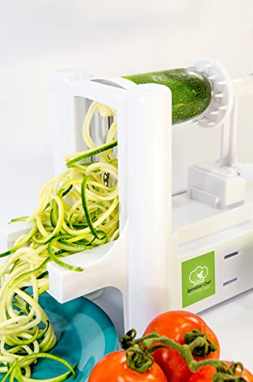 Great Kitchen Basics Countertop Spiralizer 3 Blade Spiral Vegetable Slicer For  Low Carb Healthy Eating. Includes