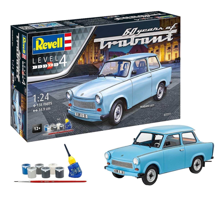 Revell Spielzeug Modellbausatz Auto 1 24 Trabant 601S 60