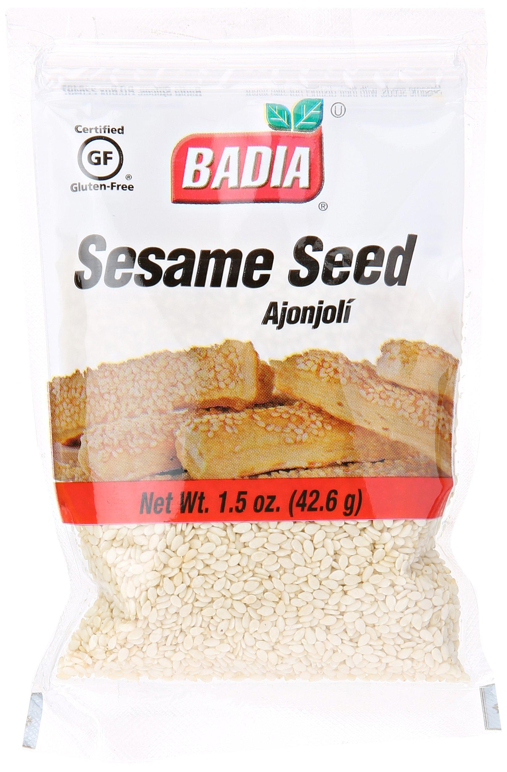 Badia Sesame Seed Packet, 1.5 oz