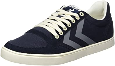 Hummel Damen SL. Stadil Herringbone Low Sneakers, Blau (Ombre Blue), 37 EU