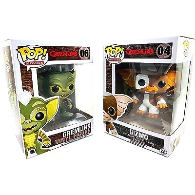 Gremlins 2pc Pop Figure Bundle with Gizmo & Gremlin: Toys & Games