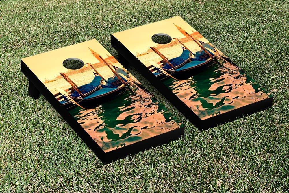 ゴンドラボートCornhole Bag Toss Game Set B009W7CS9I