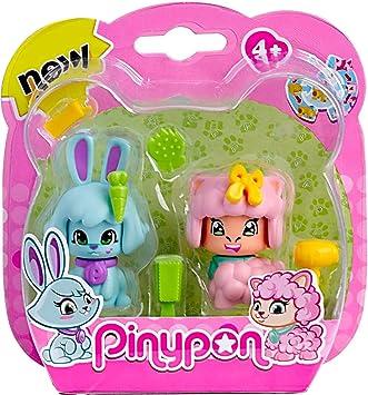 Pinypon Pack 2 mascotas, conejo y oveja. (Famosa) (700012732 ...