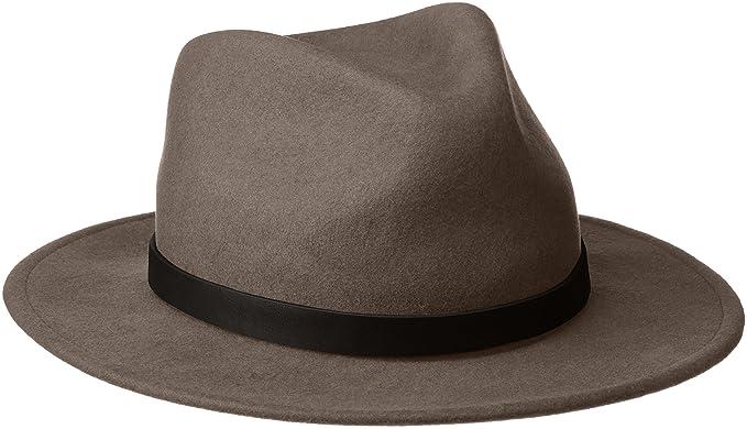 5703bb3098 Brixton Men's Messer Fedora Hat