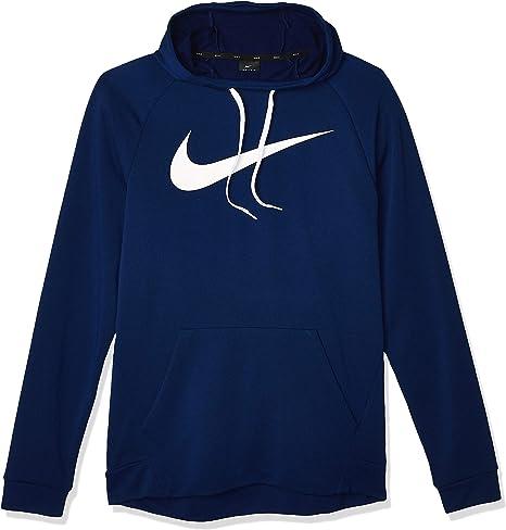 Nike 885818-492 - Sudadera para Hombre, Azul (Blue Void/Blanco), XL