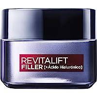 L'Oréal Paris Revitalift Filler Crema de Día Revitalizante, Antiarrugas y Volumen, Anti-edad, Con Ácido Hialurónico, 50…