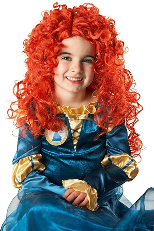 Girls Disney Princess Merida Wig