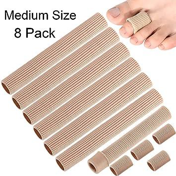 Amazon.com: Tubo de cojín para dedos de los pies, tamaño ...