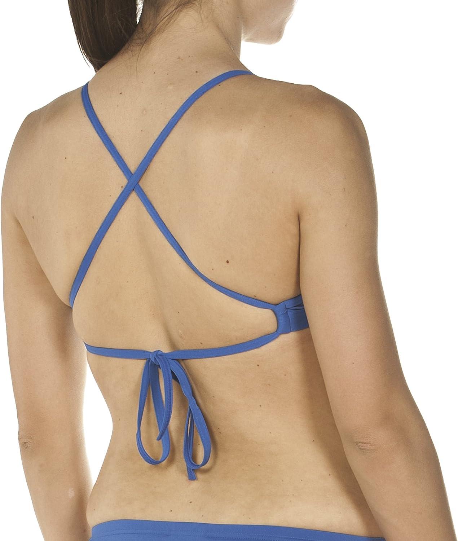 Donna Arena Solid Tie Parte Superiore Bikini