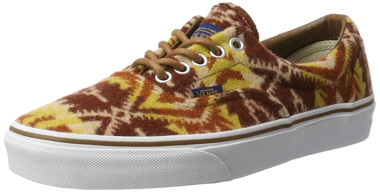 Amazon.com | Vans Unisex Era (Pendleton) Tribal/Tan Skate Shoe 9.5 Men US /  11 Women US | Fashion Sneakers