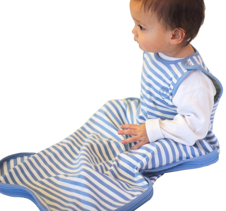 Woolino 4 Season Baby Sleep Bag Merino Wool Baby Sleeping Bag 2Mo-2Yrs Gray