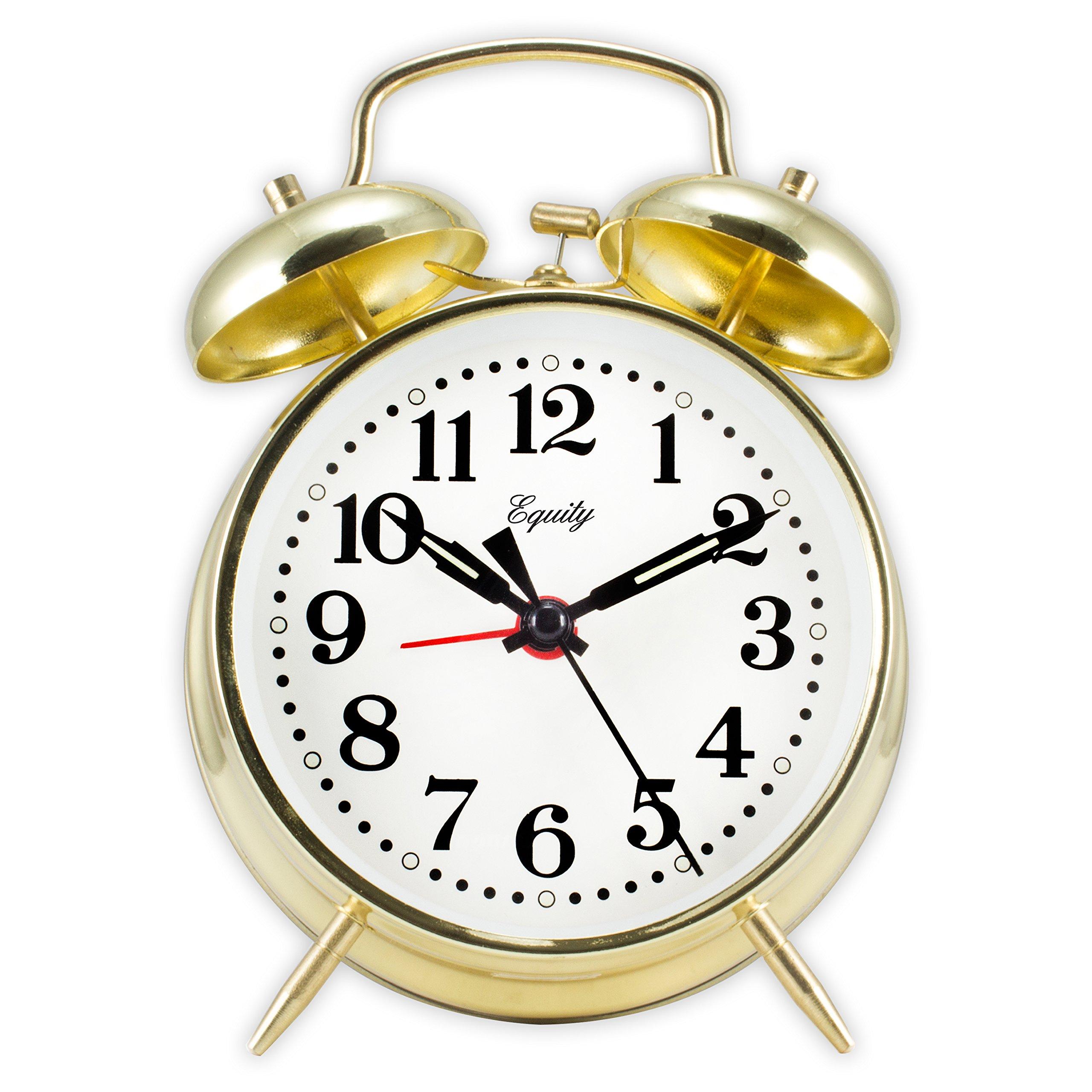 Equity by La Crosse 13012 Twinbell Alarm Clock