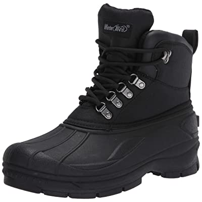 TECS Men's Winter, Snow, Boot, Bootie | Snow Boots