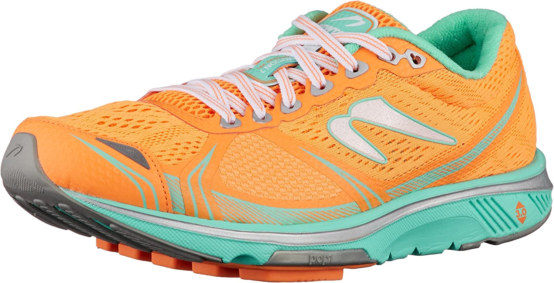 newtonrunning Motion 7, Zapatillas de Running para Mujer, Naranja (Orange/Silver 001), 36 EU: Amazon.es: Zapatos y complementos
