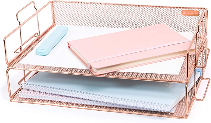 The Best Office Supplies For Desk Rose Gold