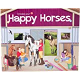 Trend Create your Happy Horses - Malbuch mit Stickern, 5689