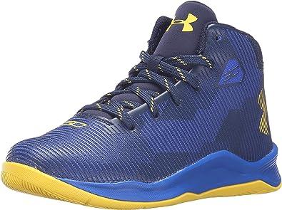 Under Armour Boy s Curry 2.5 Basketball Shoes (10.5Y-3Y) Royal Blue  73447308ac3