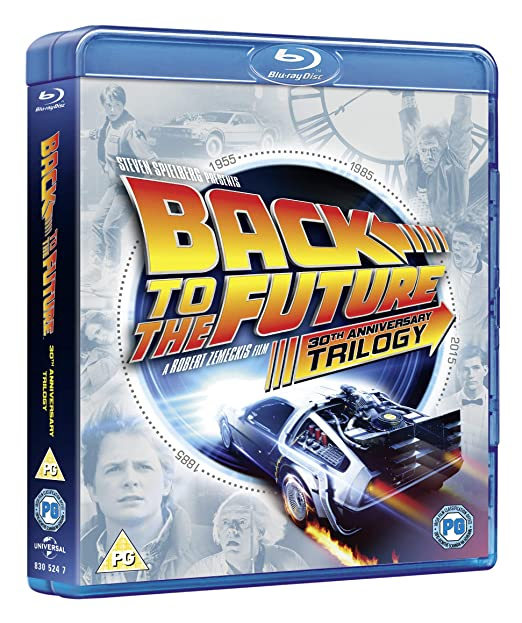 Amazon com: Back to The Future Trilogy [Blu-ray] [1985