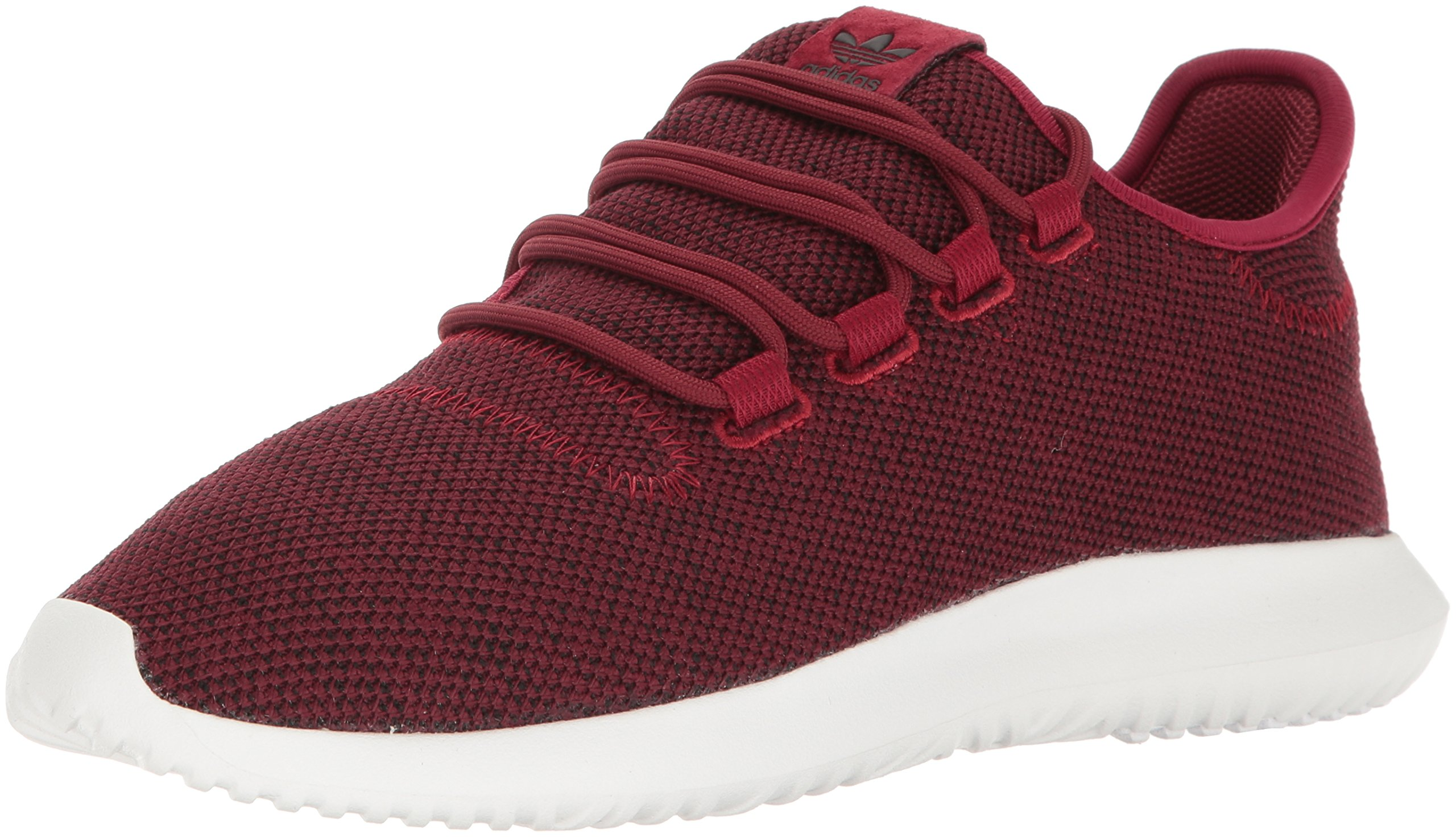 adidas Originals Men's Tubular Shadow Sneaker Running Shoe, Burgundy/Black/White, 13 M US by adidas Originals