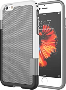 iPhone 6S Case, iPhone 6 Case, Jeylly [3 Color] Slim Hybrid Impact Rugged Soft TPU & Hard PC Bumper Shockproof Protective Anti-Slip Case Cover Shell for Apple iPhone 6 / 6S (4.7 Inch) - Light Gray