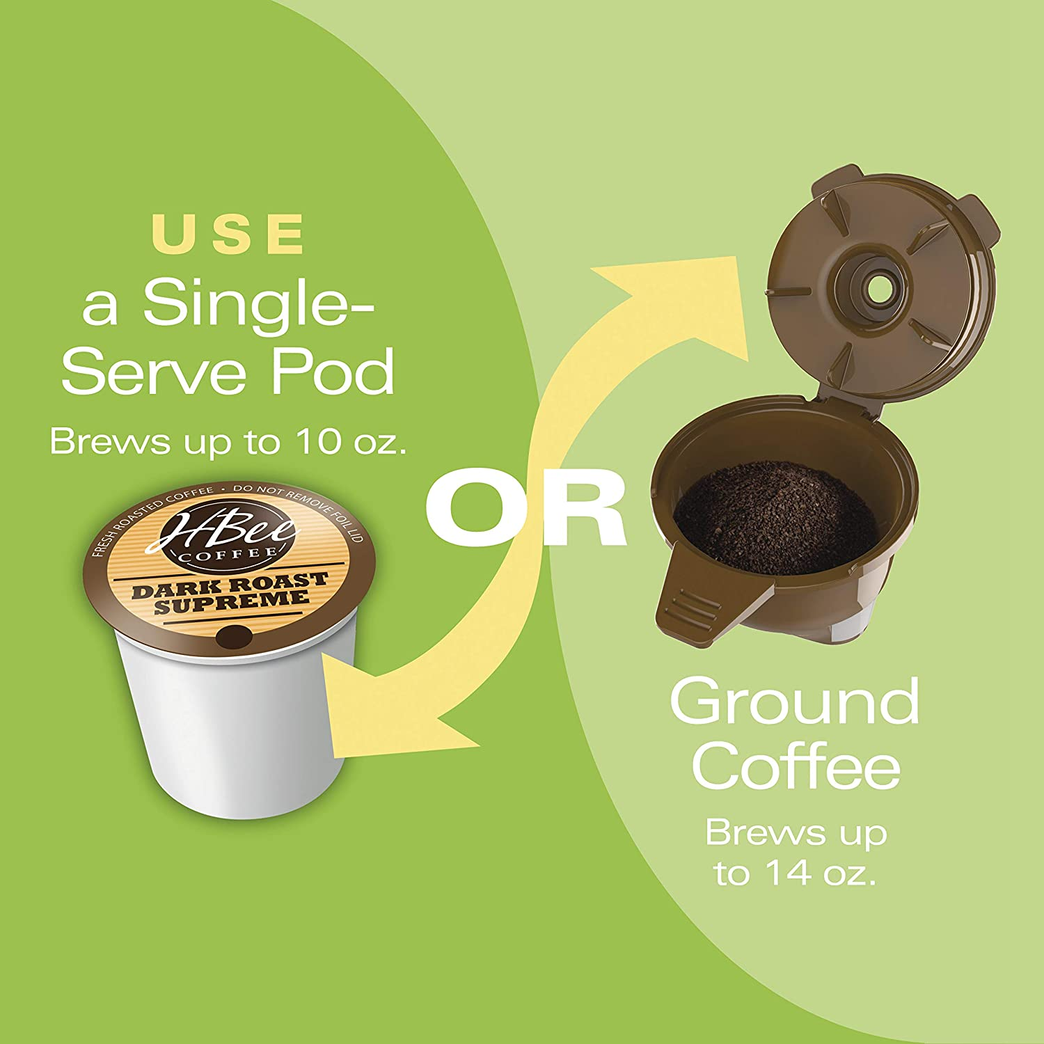 Holds 35 K-Cups in Black /& K-Cup Carousel Compatible with K-Cup Pods and Grounds Black 49974 Hamilton Beach FlexBrew Single Serve Coffee Maker