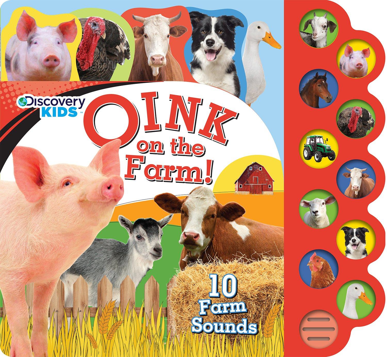 amazon com discover kids oink on the farm discovery kids 10