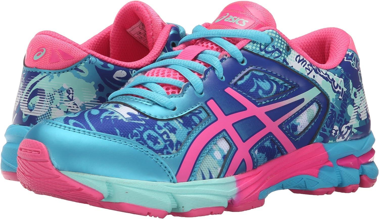 Zapatillas de running Gel-Noosa Tri 11 GS (Ni?o peque?o / Ni?o grande), Turquesa / Rosas fuertes / Asics Blue, 6.5 M US Big Kid: Amazon.es: Zapatos y complementos