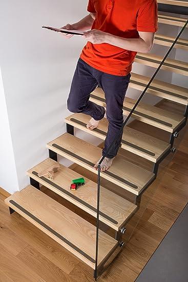 verschiedene Mengen Kara Anti Rutsch Streifen transparent Treppe ca ...