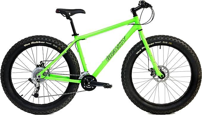 Bicicletas de aluminio de ruedas anchas con frenos de disco ...