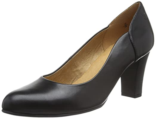 Womens 22401 Closed Toe Heels, Black Caprice